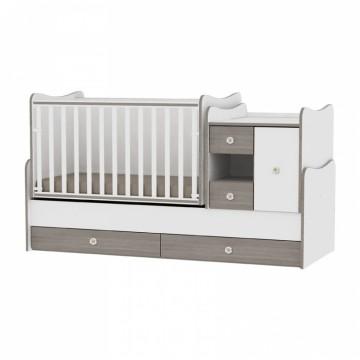 Lorelli MiniMax Babykamer 6 in 1 (NIEUW 2018) - Ledikanten ...