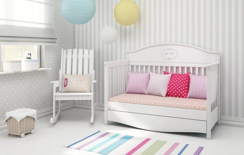 Gordijn Babykamer Babykamers : Ledikant good night pure bellamy ledikanten babykamers baby