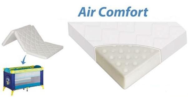Campingbed Matras Opvouwbaar.Comfort Air Matras Accessoires Baby Mundo