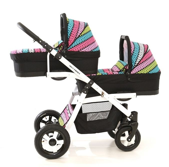 onyx tandem tweeling kinderwagen 2 in 1 duowagens meerlingwagens trippy baby mundo. Black Bedroom Furniture Sets. Home Design Ideas