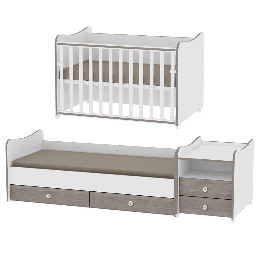 Baby Schommel Bed.Lorelli Combobed 4in1 Ledikanten Babykamers Baby Mundo